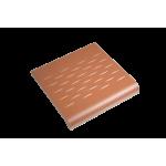Victorian Red 96x96 mm Step Edge - Victorian Floor Tiles