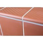 Victorian Red 146x146 mm - Victorian Floor Tiles