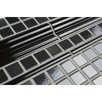 Pencil Moulding Gloss Black 20 cm - Victorian Floor Tiles