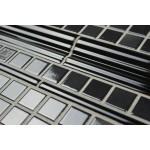 Dado Moulding Gloss Black 20 cm - Victorian Hallway Tiles