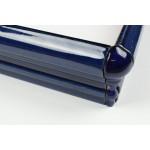 Dado Moulding Gloss Cobalt Blue 20 cm - Victorian Hallway Tiles