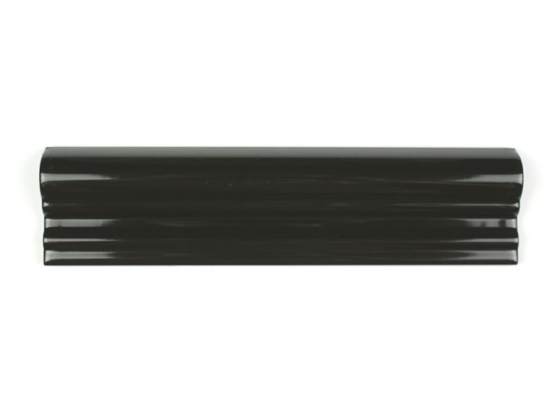 Dado Moulding Gloss Black 20 cm
