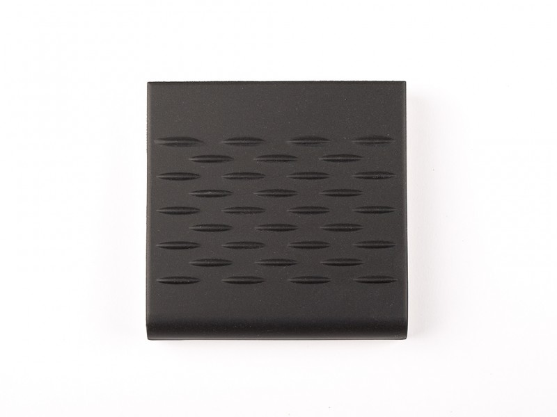 Victorian Black 96x96 mm Step Edge